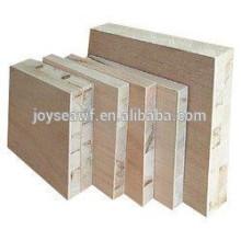 AA / BB okoume face carton 25mm Panneaux lattés - panneaux blocs