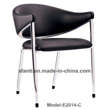 Modernes Leder Büro Training Metall Eisen Salon Baby Stuhl (E2014-C)