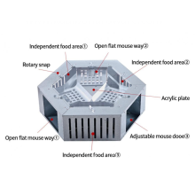 Stainless steel mousetrap household