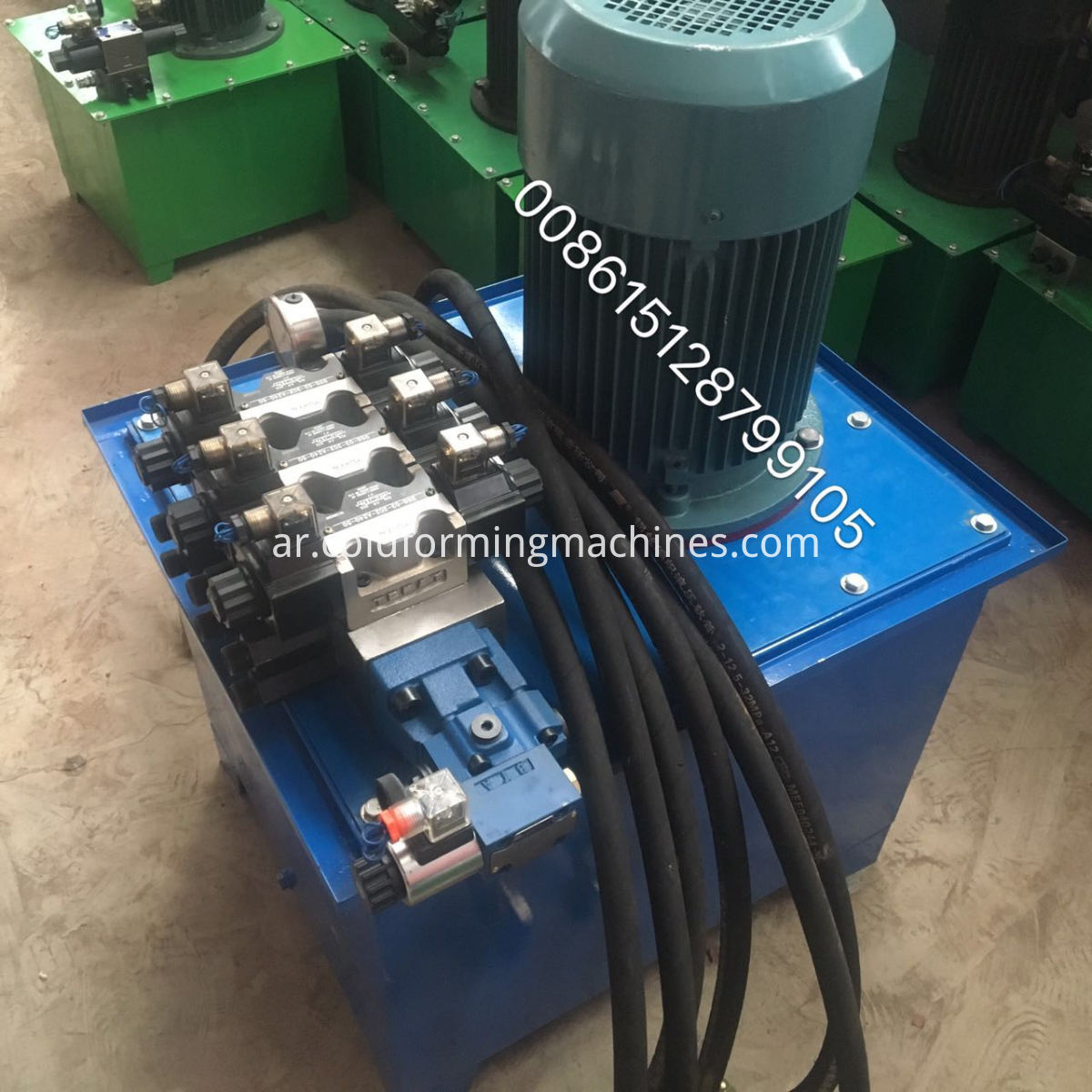 Hydraulic C purlin