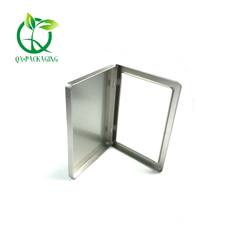 Square Metal Tins With Lids