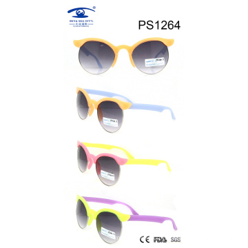 High Quality Colorful Children Sunglasses (PS1264)