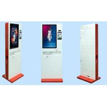 Indoor Temperature Measurement Terminal Automatic Hand Sanitizer Print Label Kiosk