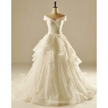 Плюс Размер Большой Женщина Линии Свадебное Платье