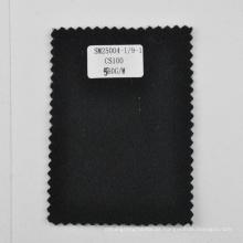 Mongólia Interior tecido 100% cashmere tecido preto 560g / m