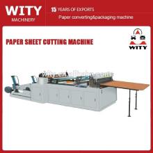 Jumbo rollo de papel de corte transversal de la máquina