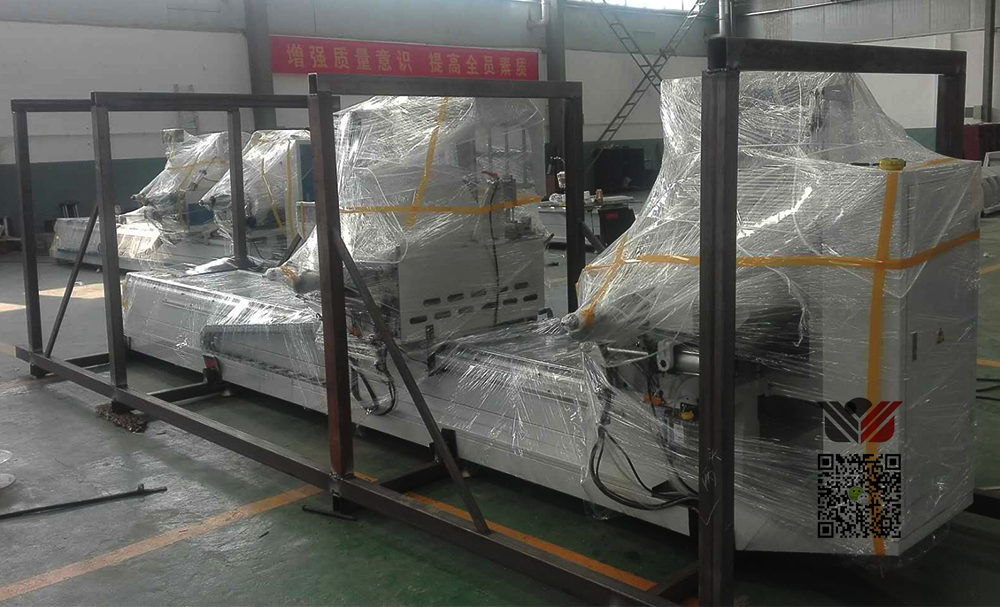 UPVC cutting saw Packing, Lumei