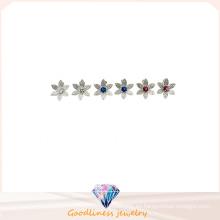 Pendientes de la calidad superior y de la flor fresca Pendientes blancos lindos de la joyería de la manera de Corea Pendientes de la manera coreana E6313