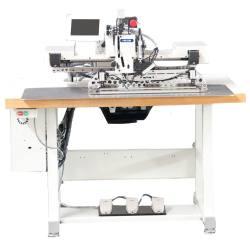 Ekstra ciężka programowalna elektroniczna maszyna do szycia deseniowego do podnoszenia pasków