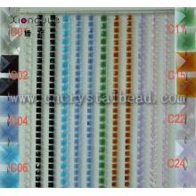 L019 crystal color Handmade Beaded Curtains