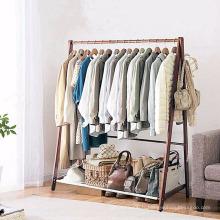 Cintre de tissu de support de vêtement de support de support de séchage de blanchisserie pour la maison et les affaires
