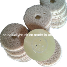Sisal Hemp Material Round Polishing Brush (YY-032)