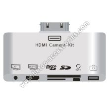6 in 1 ipad iphone HDMI card reader