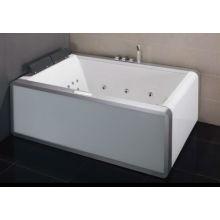 EAGO Acrylic rectangular Whirlpool massage Bathtub AM151-1JDTSZ