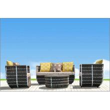 Ensembles de meubles de patio en rotin à loisir moderne (F868)