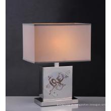 Quarto de hotel lâmpada de mesa de aço inoxidável (BT6016)