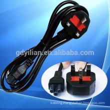 2 pin 3 pin us/eu/uk AC power plug /power cord cable with plug