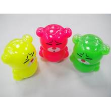 Neon Color Novelty Bear Slime Toy