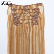 8A Brazilian Remy Unprocessed Virgin Hair Clip Hair Extensions 200G Candy Curl Human Weaving Hair
