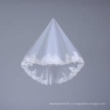 Короткие тюль фата для невесты свадьба