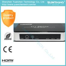 Switcher de HDMI 1.4V 3 X 1 avec la couleur profonde de Pip 3D