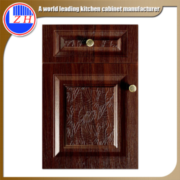 Embossed New Style PVC Kitchen Cabinet Door (customized)