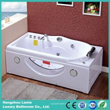 Moderna bañera de hidromasaje con jacuzzi de agua (TLP-634G)