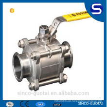 3-piece stainless steel ball valve handle