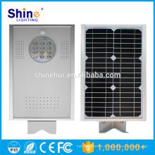 Luz de césped solar de la venta de la venta caliente del diseño integrado 12W de la inducción