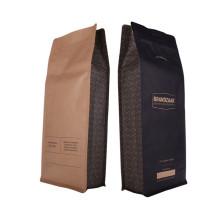Sacs de tampon à chaud compostables en carbone emboutissant des sacs de café