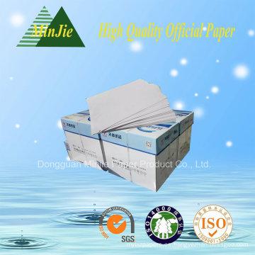 100% de pasta de madera Buena Qualilty A4 Copy Paper 80GSM