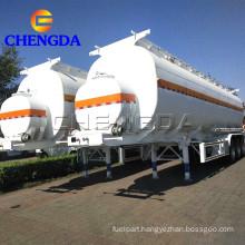 3 Axle Liquid Diesel Oil Tank Semi Trailer