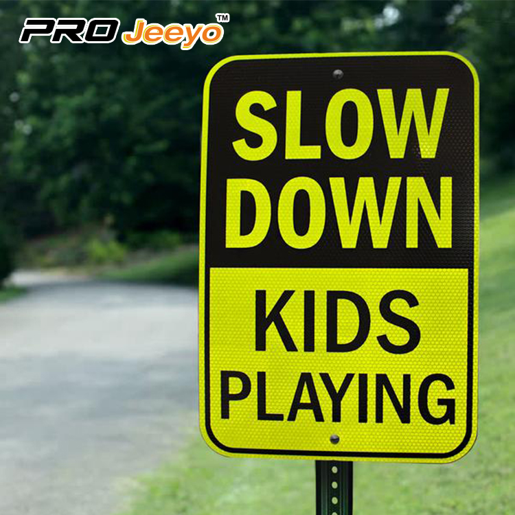 slow down sign 6