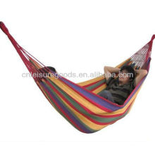 2015 Hot sale camping cotton fabric hammock