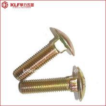 Zinco / parafuso de transporte galvanizado / cabeça de cogumelo pescoço quadrado parafusos