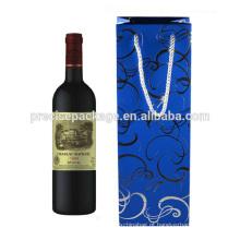 Papel reciclado 1 garrafa de vinho