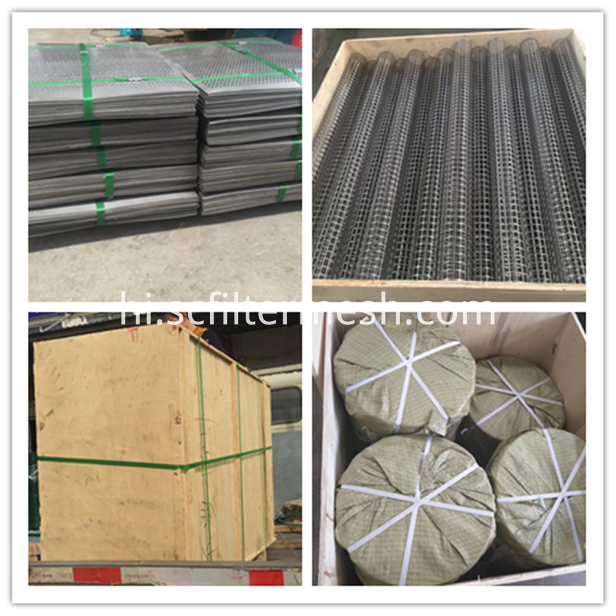 perforated metal package