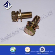 Grade 4 Zinc Finished Small Screw Made From Shanghai