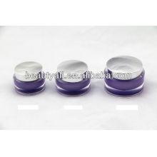15g 30g 50g Oval Glowing special luxury acrylic cosmetic jar