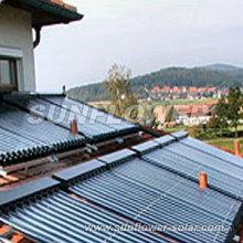 Colector solar de cobre de la pipa del calor con EN-12975