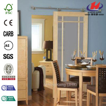JHK-G33 Mirror Panel Hanging Closet Interior Sliding Pocket Doors