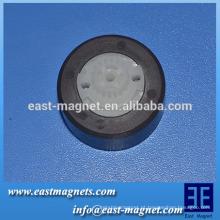 Propriedades magnéticas do ímã de ferrite anisotrópico magnetizado bipolar para bomba de água em miniatura / temporizador elétrico / controlador de programa