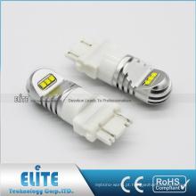 Luzes customizáveis do carro da ampola de freio do poder superior 3157 do ODM do OEM conduzidas