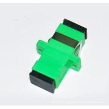 Sc/APC-Sc/APC Simplex Fiber Optic Adapter