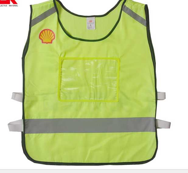 luminous warning waistcoat