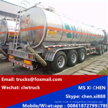 42000 litres 3 essieux aluminium alliage réservoir Semi remorque
