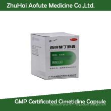 Capsule de cimétidine certifiée GMP