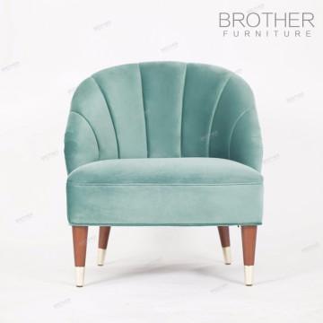 La tela europea clásica de lujo de los muebles de la sala de estar fija el sofá
