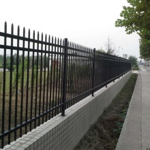cheap australia standard wrought zinc steel fence
