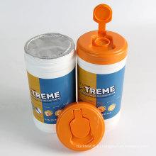 Дезинфицирующие спиртовые салфетки из нетканого материала Barrel